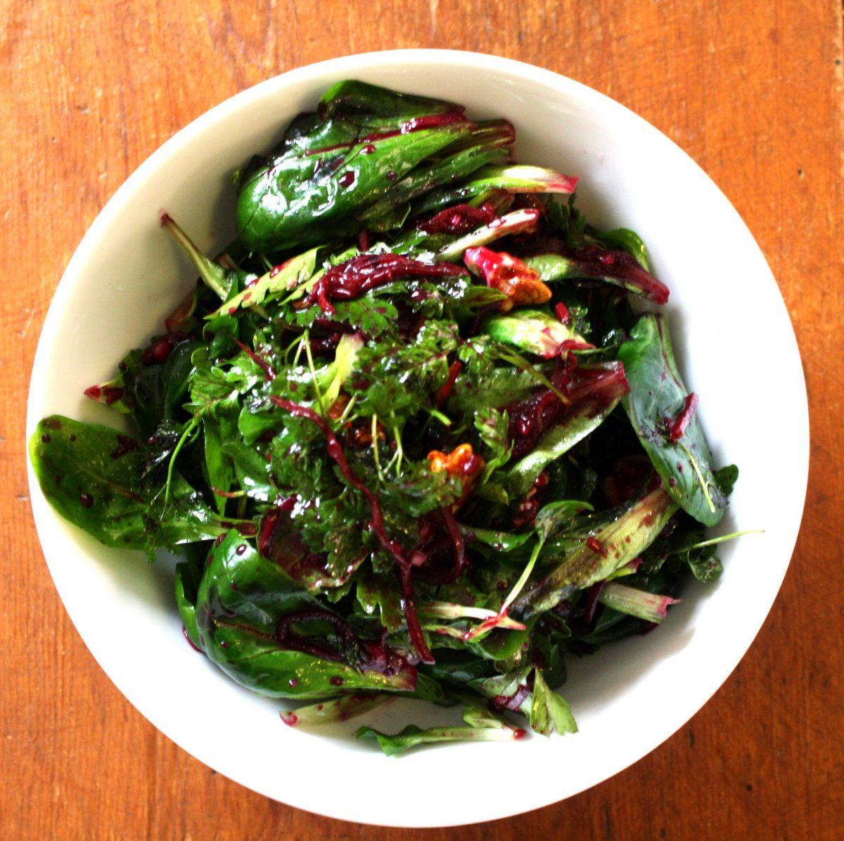 la salade de bl betterave rouge ferment e itin raire bis gourmand. Black Bedroom Furniture Sets. Home Design Ideas